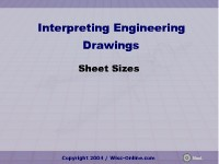Interpreting Engineering Drawings: Sheet Sizes