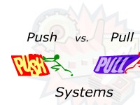Push vs. Pull Systems