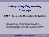 GD&T: Geometric Characteristic Symbols