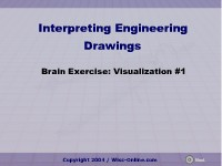 Brain Exercise: Visualization #1