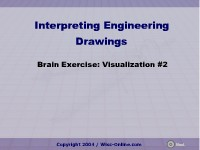 Brain Exercise: Visualization #2