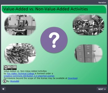 Value-Added vs. Non-Value-Added Activities