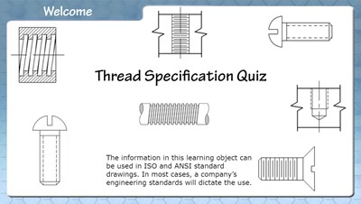 Thread Specifications