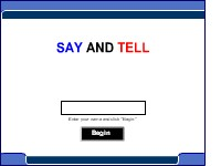 """Say"" and ""Tell"""