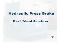 Press Brake - Hydraulic