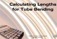 Calculating Lengths for Tube Bending