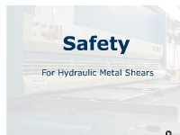 Safety - Hydraulic Metal Shears