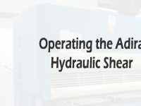 Operating the Adira Hydraulic Shear