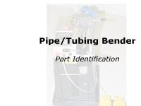 Pipe/Tubing Bender - Parts Identification