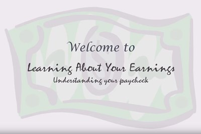 Learning About Your Earnings (Screencast)