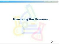 Measuring Gas Pressure