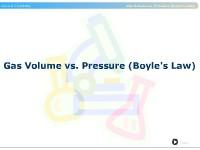 Gas Volume vs. Pressure (Boyle's Law)