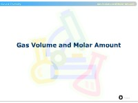 Gas Volume and Molar Amount