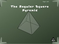 The Regular Square Pyramid