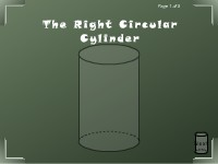 The Right Circular Cylinder