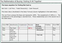 The Mathematics of Buying:  Putting It All Together