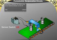 Photoelectric Reciprocation Circuits