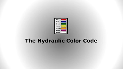 The Hydraulic Color Code (Screencast)