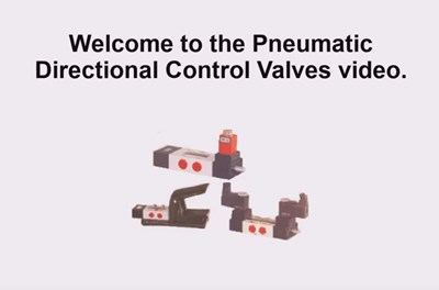 Pneumatic Directional Control Valves (Screencast)