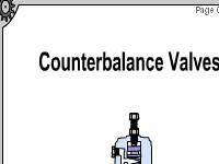 Counterbalance Valves