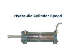 Hydraulic Cylinder Speed