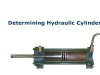 Determining Hydraulic Cylinder Size