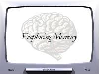 Exploring Memory
