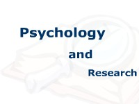 Psychology and Research