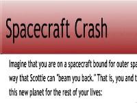 Spacecraft Crash