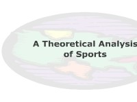 A Theoretical Analysis of Sports