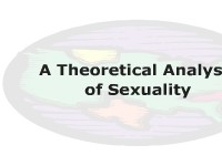 A Theoretical Analysis of Sexuality