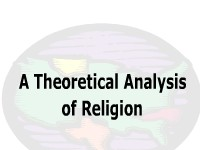 A Theoretical Analysis of Religion