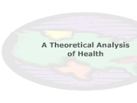 A Theoretical Analysis of Health