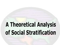 A Theoretical Analysis of Social Stratification