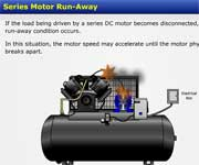 Series Motor Run-Away