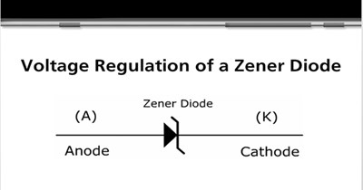 Voltage Regulation of a Zener Diode