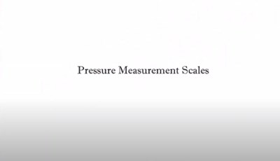Pressure Measurement Scales (Screencast)