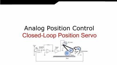 Analog Position Control  (Screencast)