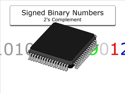 Signed Binary Numbers: 2's Complement