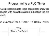 Programming a PLC Timer