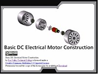 Basic DC Electrical Motor Construction