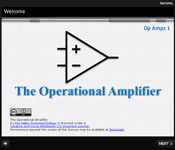 Op Amps 1: The Operational Amplifier