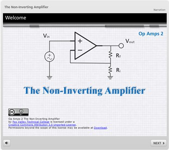 Op Amps 2: The Non-Inverting Amplifier