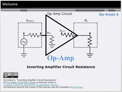 Op Amps 6: Circuit Resistance for the Inverting Amplifier