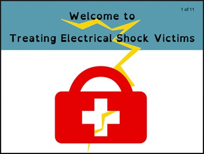 Treating Electrical Shock Victims