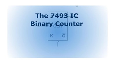 The 7493 IC Binary Counter (Screencast)
