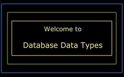 Database Data Types