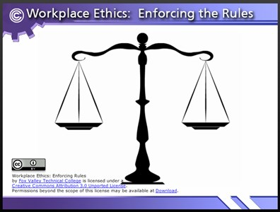 Workplace Ethics: Enforcing Rules