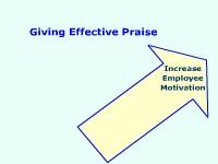 Giving Effective Praise