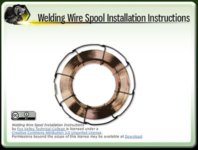 Welding Wire Spool Installation Instructions